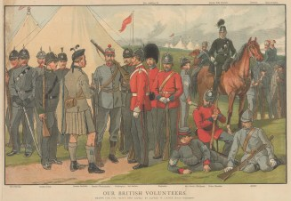 HAC, Rifles, Inns of Court, Civil Service, Irish, Scots, Westminster, Paddington, Engineers, Tower Hamlets, Artists, 2nd and 3rd London.