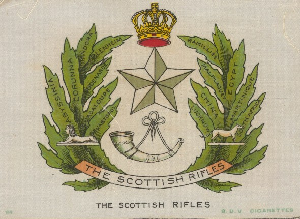 Originally formed in 1689, the Rifles chose to disband rather than be amalgamated in 1968.