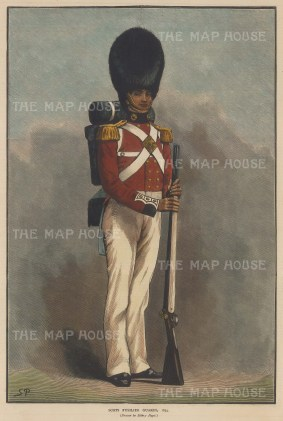From 1831-77 they were known as the Scot Fusilier Guards.