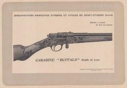 """Mahler: Gun. c1907. An original antique lithograph. 8"""" x 6"""". [FIELDp887]"""