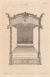 Ornate Bed: Plate XXXIX.