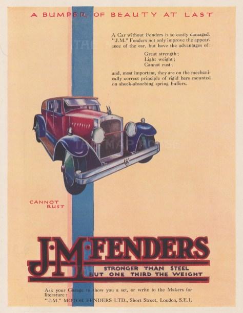 J. M. Fenders. A Bumper of Beauty at Last.