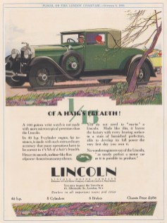 Lincoln Motor Company. Green Chassis.