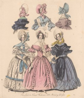 With three designs for hats.