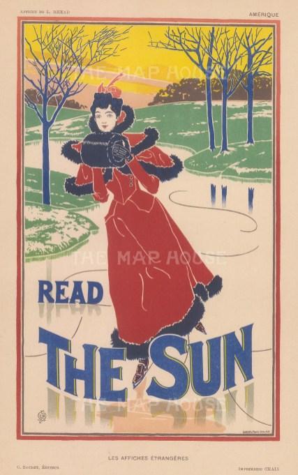 Poster by Louis Rhead.