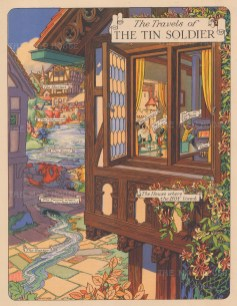 Hans Christian Andersen. Travels of the Tin Soldier. With the soldier, the dancer and the Jack in the box.