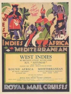 West Indies, Africa and the Mediterranean.