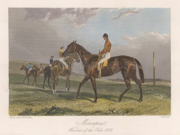 Winner of the Oaks 1856 with jockey Alfred Day.