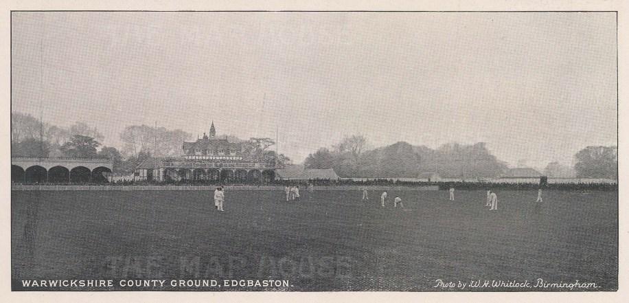 Warwickshire County Ground.
