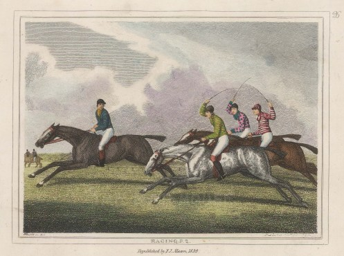 Plate 2. Devoted to field sports, Howitt was particularly known for the accuracy of his composition.