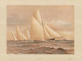 60 ton cutter designed by William Fife in 1873.
