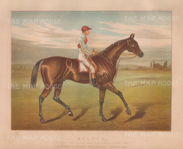Melton and Champion jockey Fred Archer: Winner of the Derby and St Leger