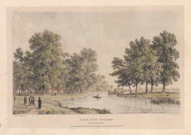Scene near Eton College in the Playing Fields.