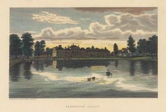 "Cassell: Kensington Palace. c1883. A hand coloured original antique steel engraving. 8"" x 6"". [LDNp10661]"