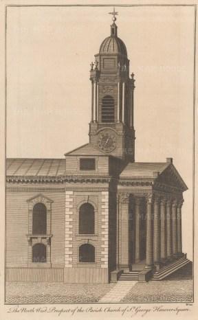 St George's Parish Church, Hanover Square.