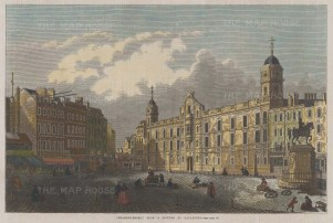 Charing Cross after Canaletto.