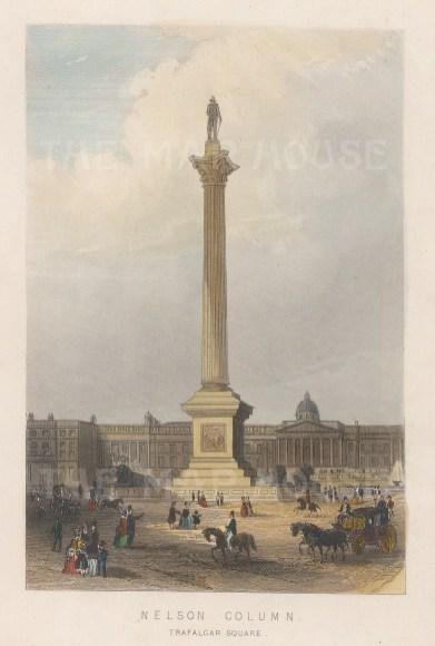 Nelson's Column, Trafalgar Square.