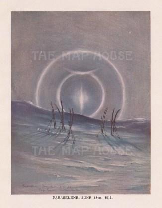 Paraselene (Mock Moon): Terra Nova Expedition 1910-13.