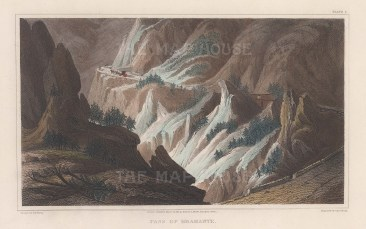 Alps: Liittle Mont Cenis pass between Bramante and Exilles. (Bramante Pass).