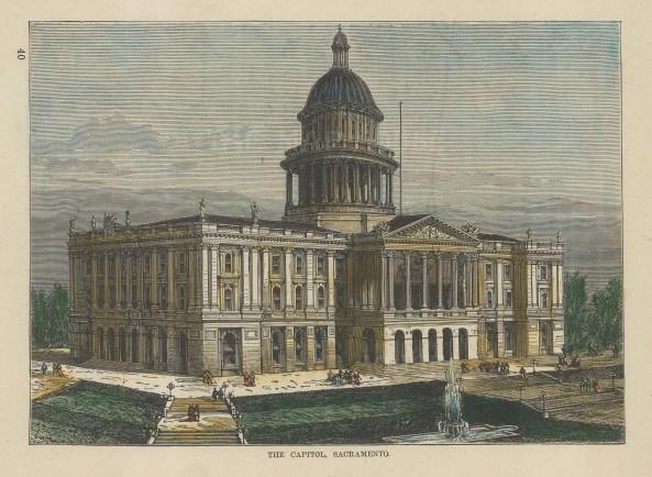 Sacramento: View of the Capitol.