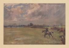 Fox Hunting. The Old Berkshire at Balking.