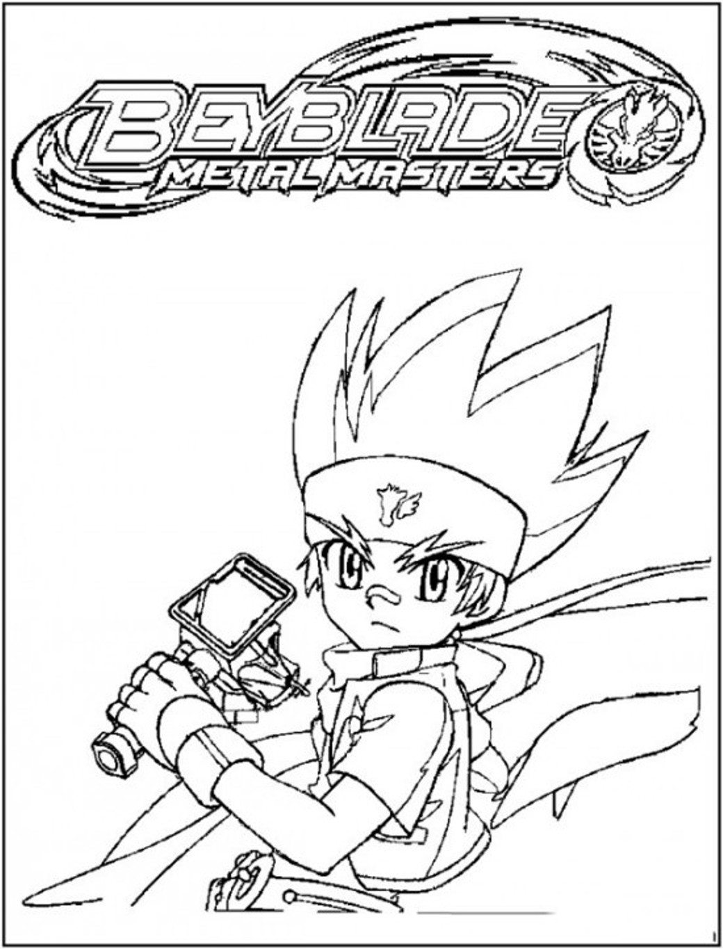 Beyblade Pictures Coloring Sheets Free Printables