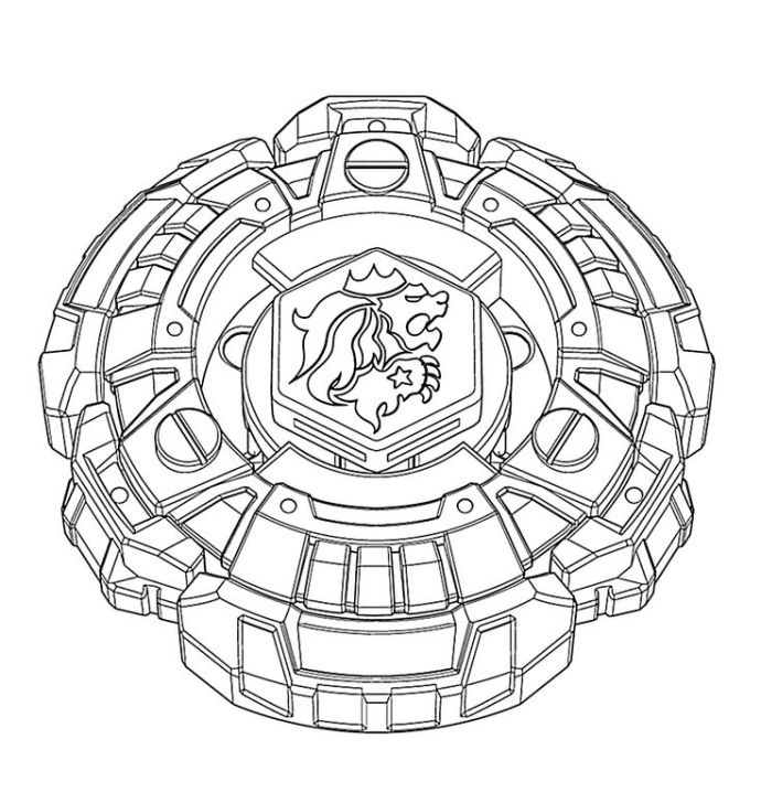 Beyblade Coloring Pages Metal Masters Ideas