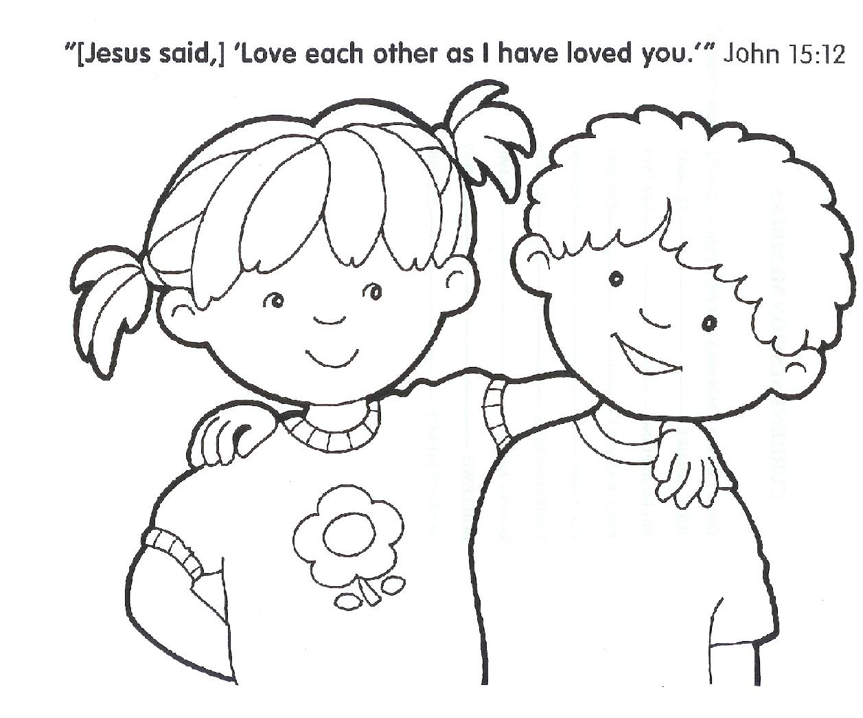 Christian Coloring Pages Copy Amelia Free Printables