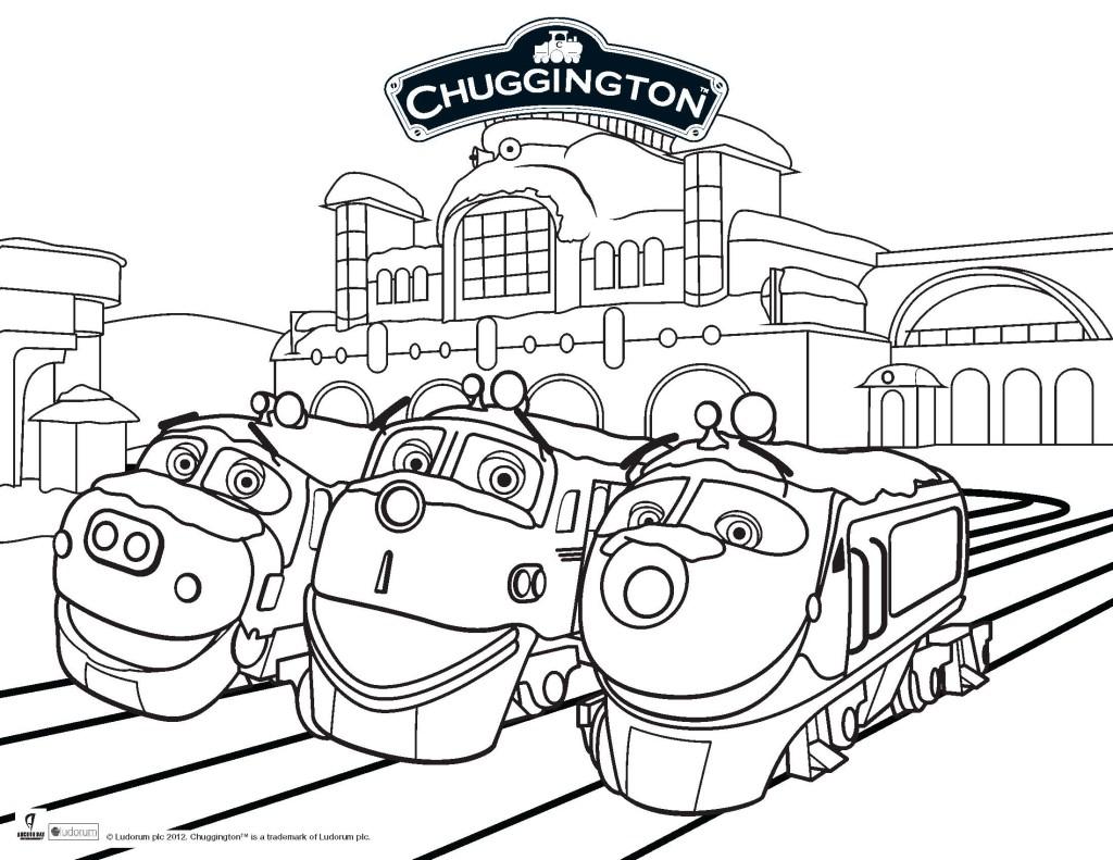 Printable Page Of Chuggington By Luke Free Printables