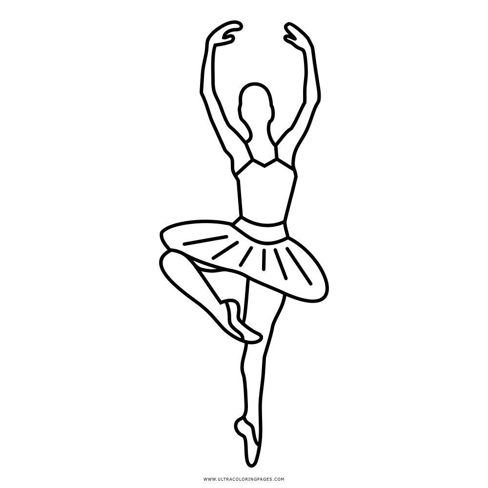 Bonito Ballet Para Colorear Composición - Dibujos Para Colorear En ...
