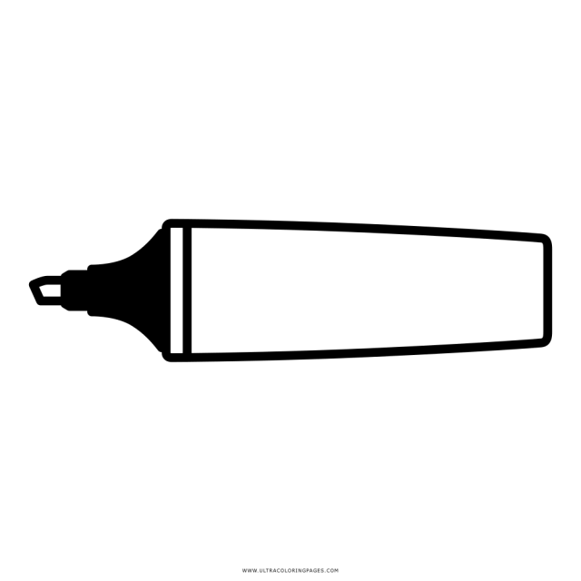 Marker Coloring Page - Ultra Coloring Pages