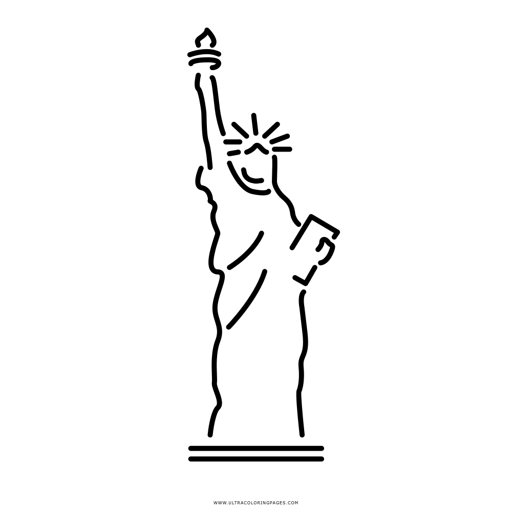 Statue Of Liberty Coloring Page Ultra Coloring Pages