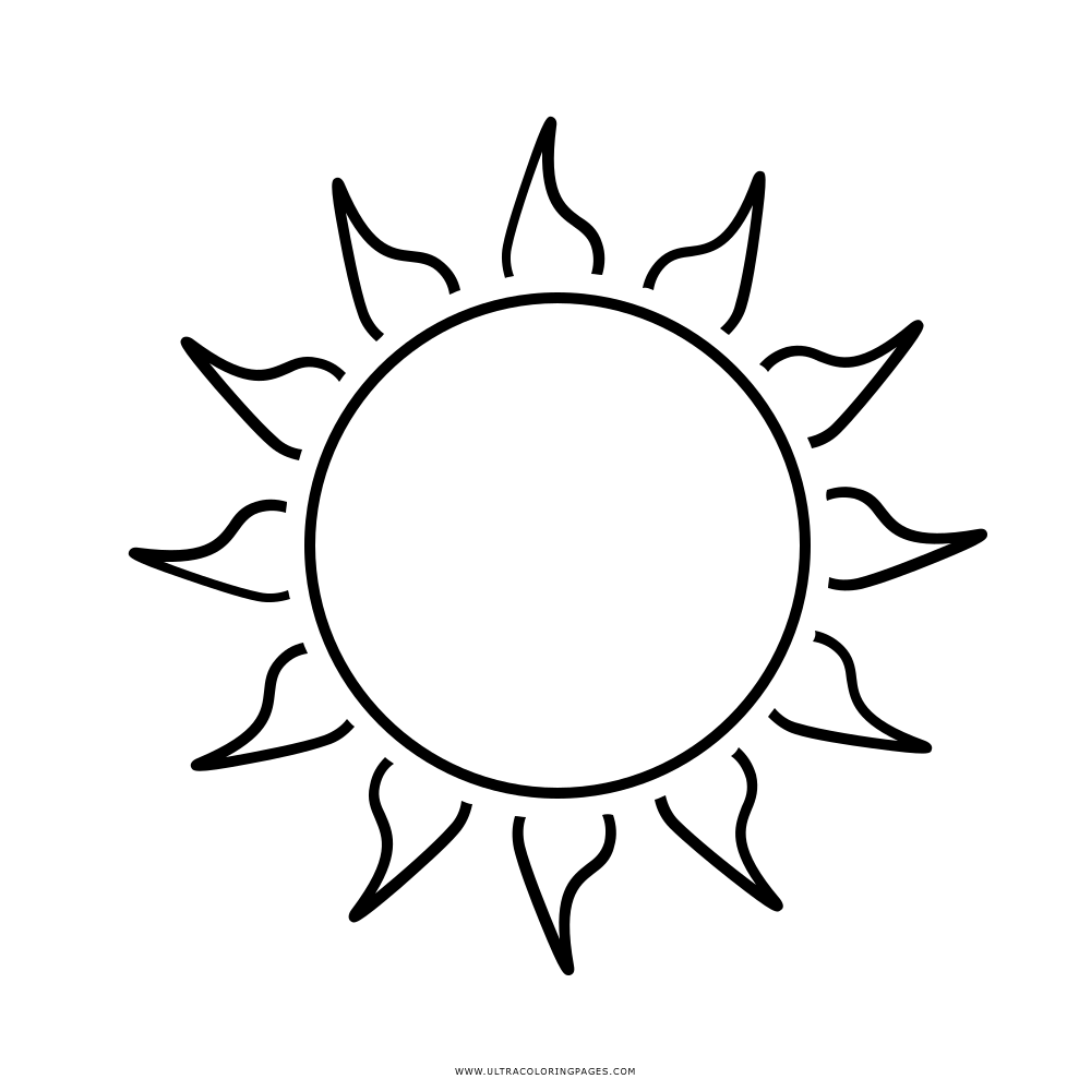 Sun Coloring Page Ultra Coloring Pages