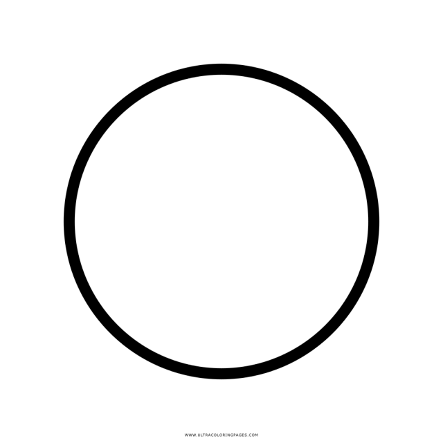 Circle Coloring Page - Ultra Coloring Pages