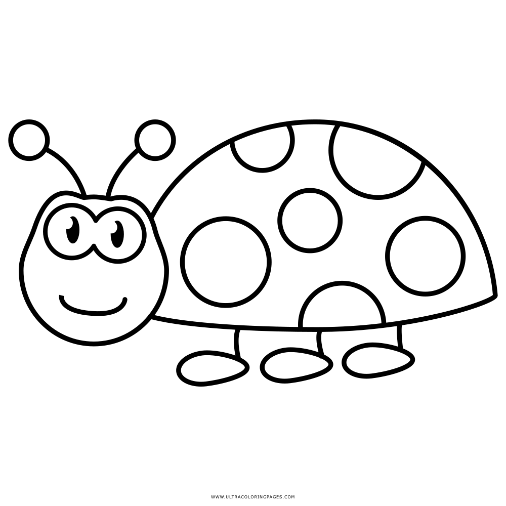 Ladybug Coloring Page Ultra Coloring Pages