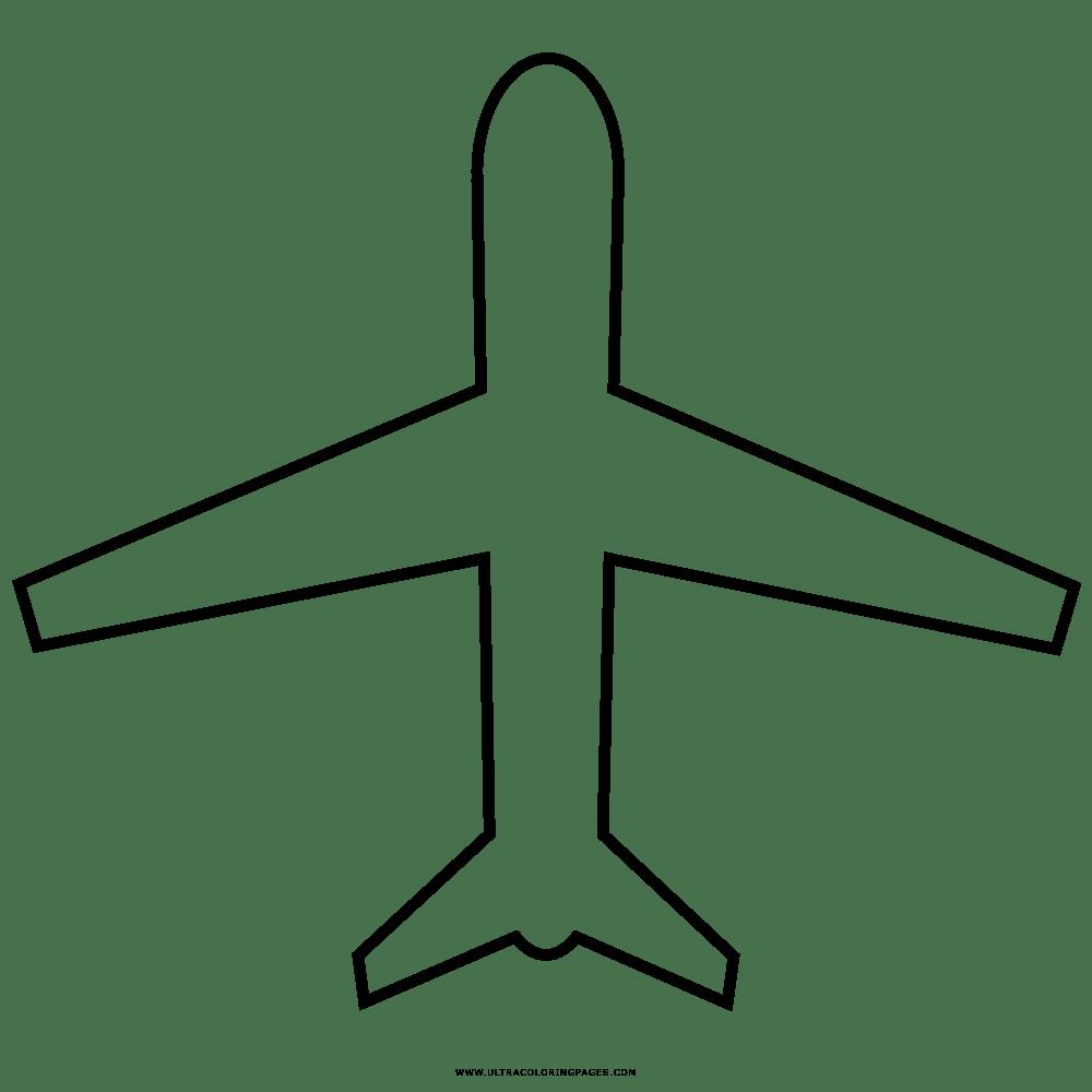 Desenho de avião para colorir. Aviao Desenho Para Colorir Ultra Coloring Pages