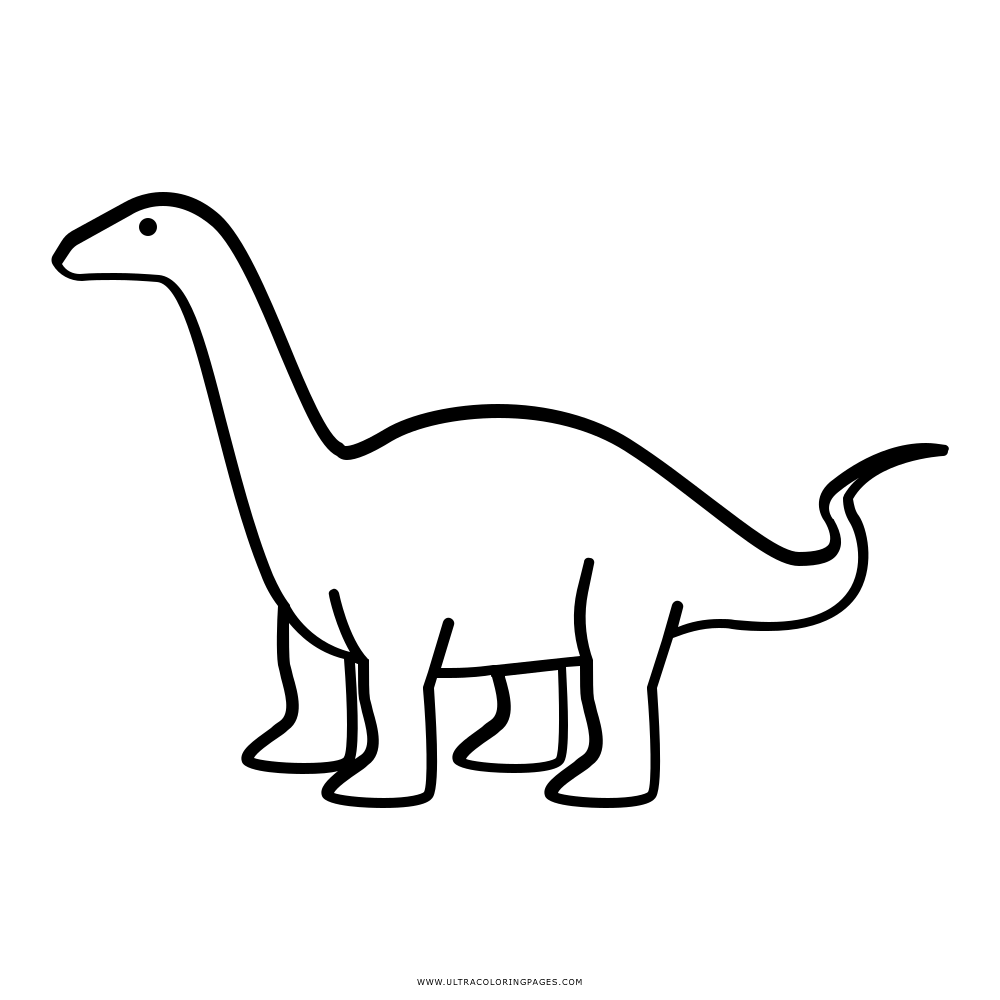 Brontosaurus Coloring Page Free Coloring Pages Download | Xsibe t ...