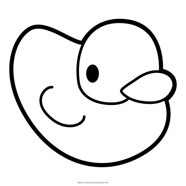 Rubber Ducky Coloring Page - Ultra Coloring Pages