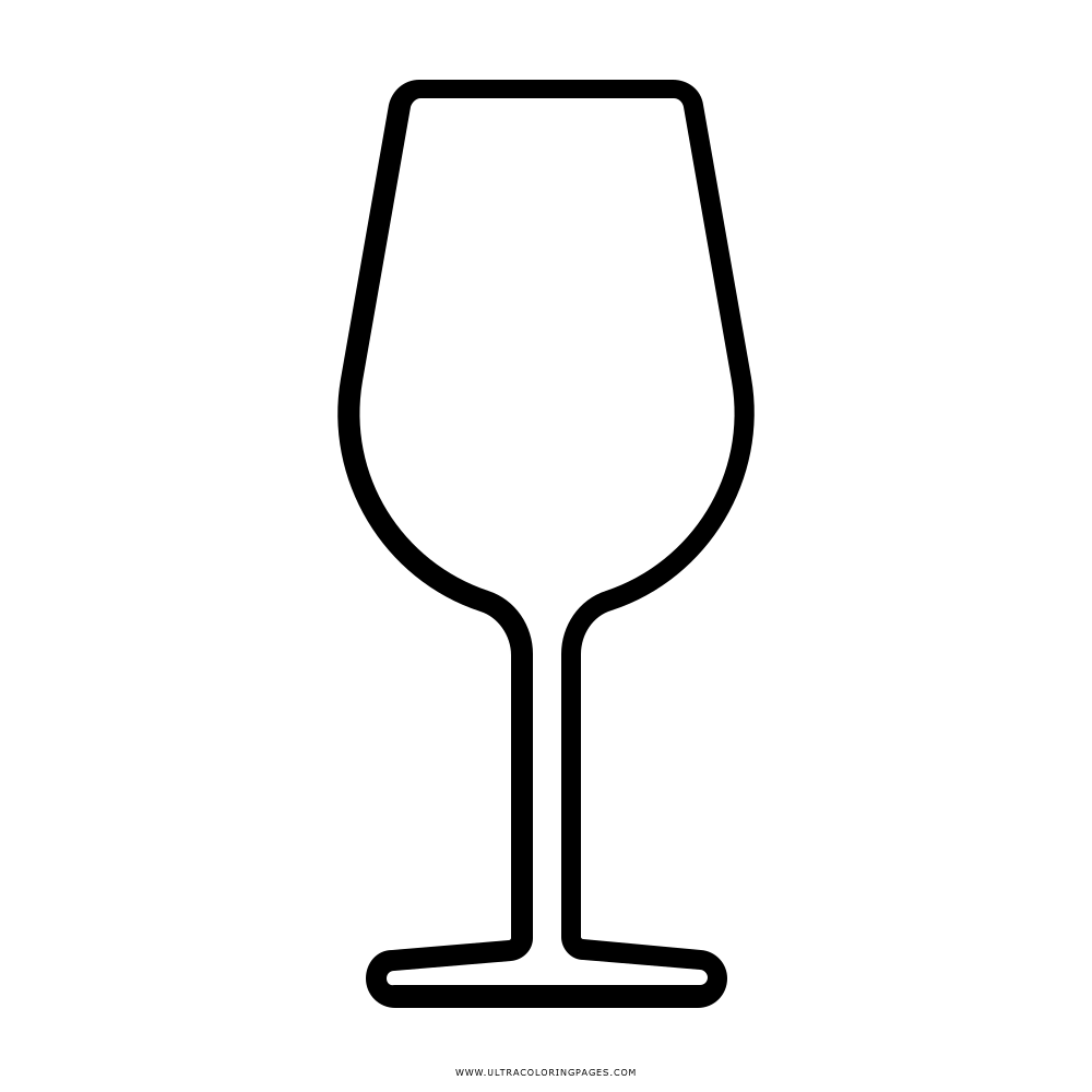 List of Wine Glass Coloring Page Pict - Best Pictures