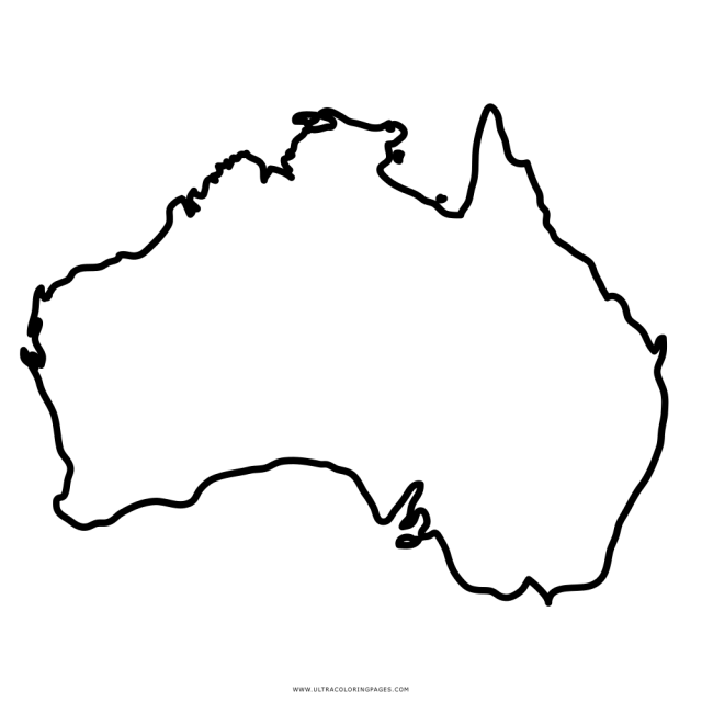 Australia Coloring Page - Ultra Coloring Pages