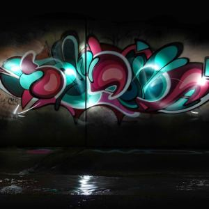 graffiti letters shana cmyk team