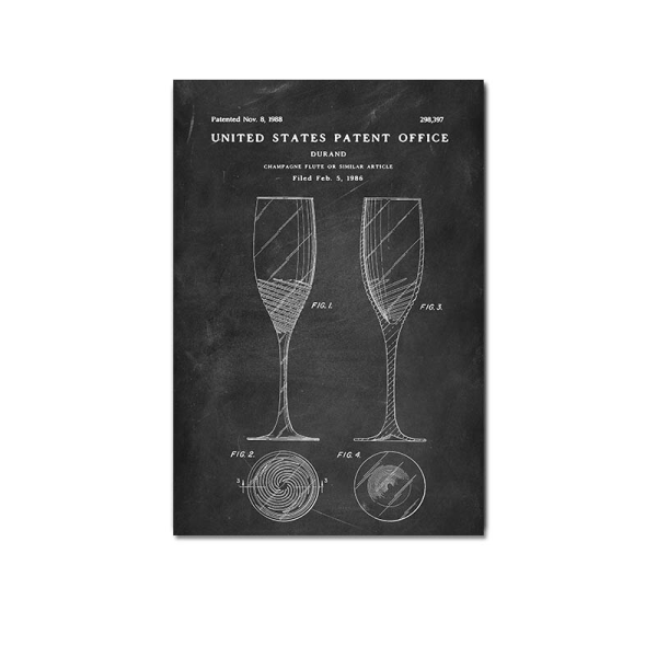 Champagne flute patent