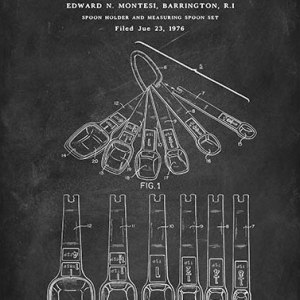 Measuring spoon patent