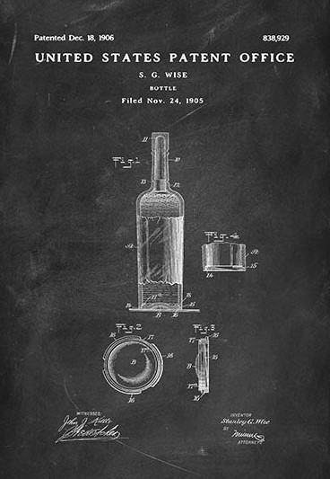bottle patent closer look