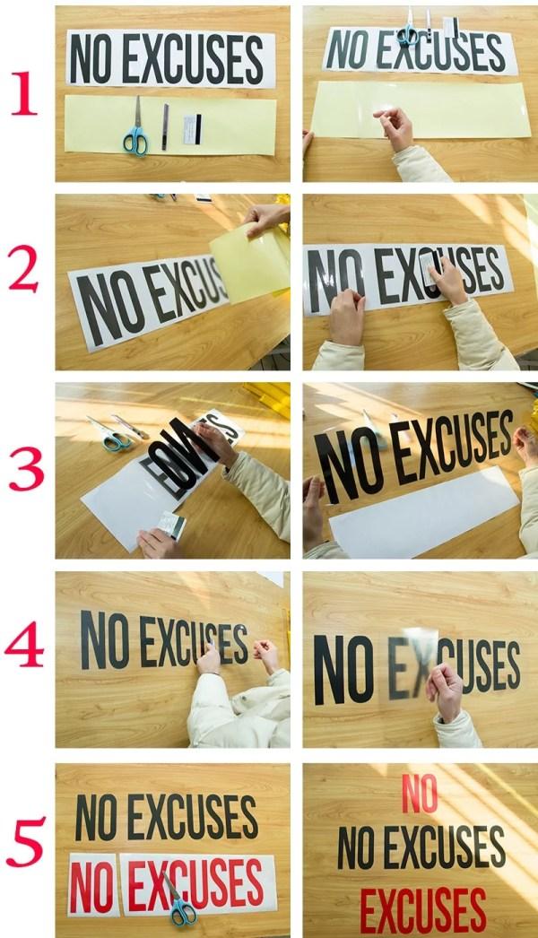 Custom Dino Wall Decal instructions