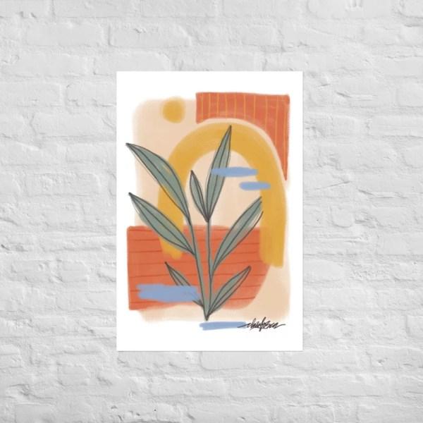 Abstract Nature print II