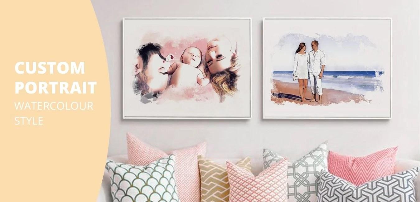 prints and portraits header
