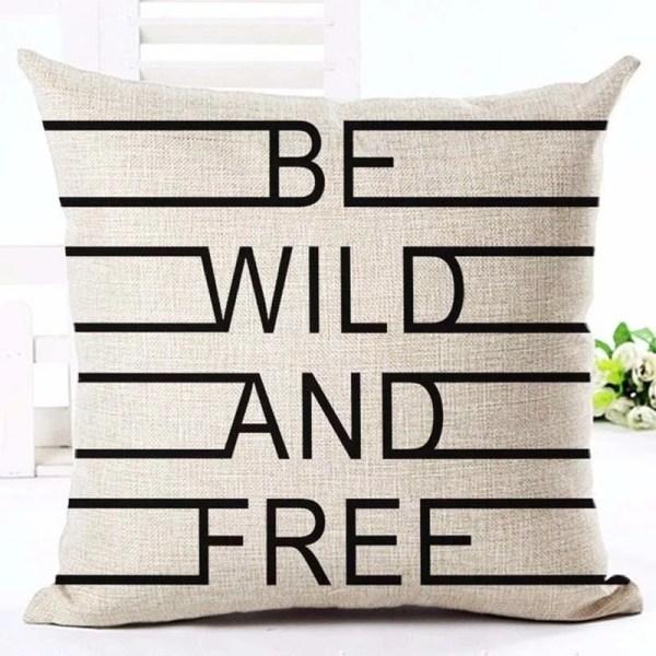 Be wild cushion