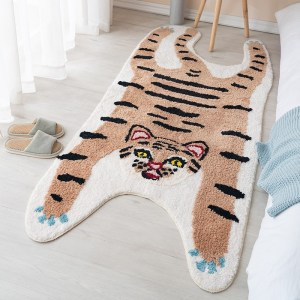 Brown Tiger Rug
