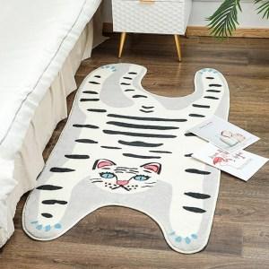 White Tiger Rug